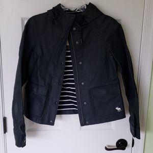 Abercrombie & fitch rain coat